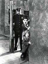 The Kid Charlie Chaplin Cops SSSP Vintage 16X20 BW Movie Memorabilia Photo - $30.95