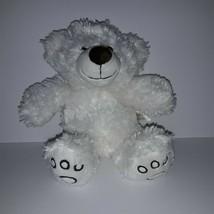 Dan Dee Collectors Choice 13 inch White Teddy Bear - $14.03