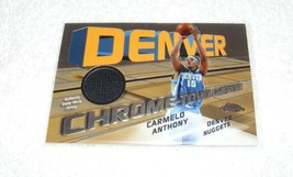 Topps Chrome 2005 Carmelo Anthony Game USED/ Number 244/1000 Nba Trading Card - $49.99