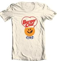 Burger Chef T-shirt retro 70s 80s fast food restaurant 100% cotton graphic tee image 2