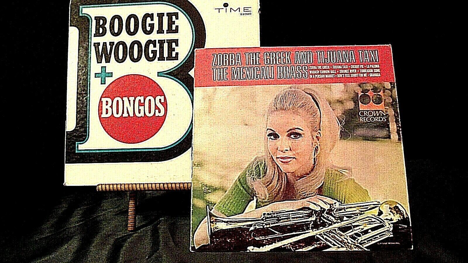 Zorba the Greek Tijuana Mexicali brass & Boogie Woogie  Bongos AA20-RC2134 Vinta