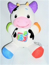 FISHER PRICE LAUGH AND LEARN MUSICAL COW PLUSH TOY - $48.49