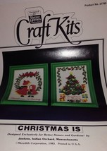 Better Homes & Gardens Craft Kits Christmas Is Caring Sharing Cross Stitch Kit - $22.23