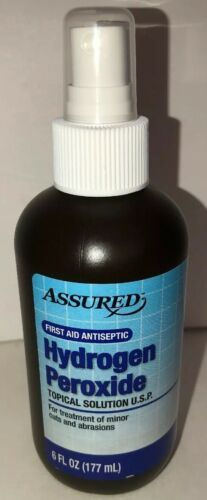 Primary image for HYDROGEN PEROXIDE 3% Mist Spray Antiseptic First Aid topical solution By ASSURED
