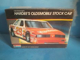 1987 FS Monogram 1:24 Cale Yarborough's Hardee's Oldsmobile Stock Car  - $18.69