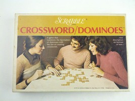 Scrabble Crossword/Dominoes Board Game - $30.06
