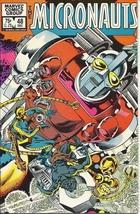 (CB-7) 1982 Marvel Comic Book: Micronauts #48 - $3.50
