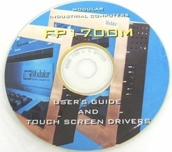 NEW MODULAR INDUSTRIAL COMPUTERS FP1700M USER'S GUIDE AND TOUCH SCREEN DRIVERS