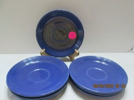 Fiestaware  SAUCERS ONLY 3 Marked (4) - $13.86