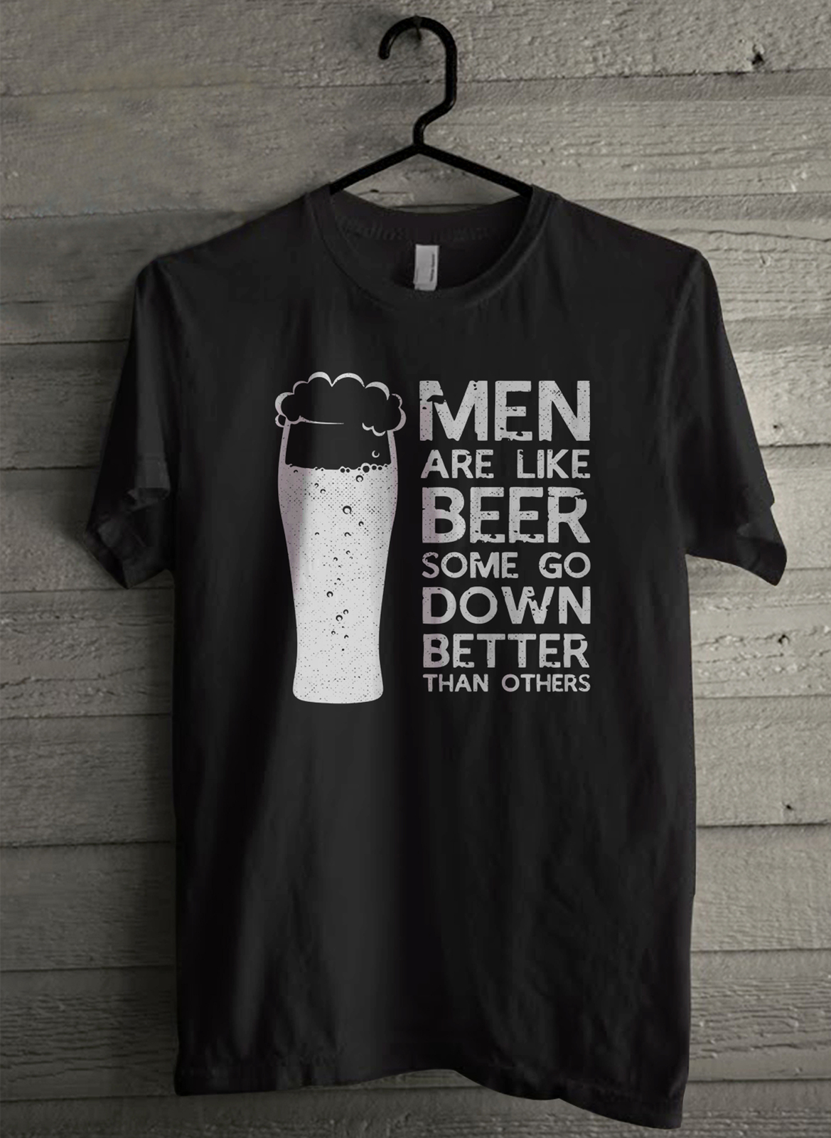 Men are like beer some go down better than others