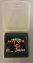 N) Clutch Hitter (Sega Game Gear, 1991) Video Game Cartridge - $7.00 CAD