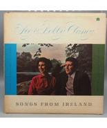 Clásico Peg y Bobby Clancy Songs From Ireland Record Album LP Vinilo - $29.43