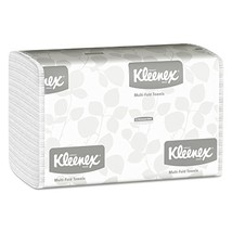 Kleenex 01890 Multi-Fold Paper Towels, 9 1/5 x 9 2/5, White, 150 per Pac... - $30.52