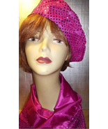 HOT PINK BERET AND SCARF SET! - $19.95