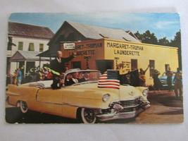 1950s Real Photo Postcard - Dwight D. Eisenhower Visiting Key West, Florida - $9.99