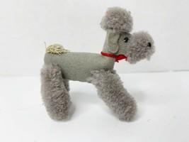 Steiff Wool Poodle Grey Plush 1506 Muffie's Pal Bild Lilli German Felt R... - $144.94