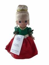 """Precious Moments Disney Parks Exclusive Cinderella Christmas Dreams 9"""" Doll - $23.23"""
