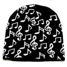 Punk Rock Winter Ski Snowboarding Hat Cap ~ Black White Music Beanie ( Q... - $15.76 CAD