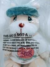 """1998 Enesco Precious Moments 20th Anniversary Plush Beanie Bear 8"""" Tall NIP - $7.84"""