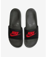 Men's Nike Benassi JDI Slide Athletic Sandals, 343880 060 Multi Sizes Bl... - $34.95