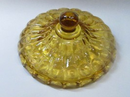 Replacement Glass Lid Depression amber, Made in USA , - $13.10