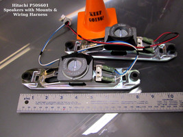 Hitachi P50S601 Speakers with Mounts & Wiring Harness - $14.95