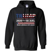 Donald Trump President Winter Shirt Funny 2020 Elections Make Liberals C... - $39.55