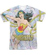 Authentic DC Comic Original Wonder Woman Lasso Collage Sublimation Front... - £21.79 GBP+