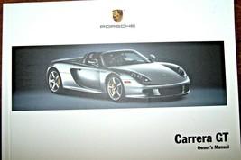 2004 Porsche 911 Carrera gt Owners Manual new original - $128.69