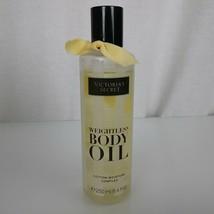 Victoria's Secret Weightless Body Oil Coconut Milk Used 90% full FAST FR... - $30.68