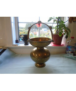 Old Rare  Unique Hindu Saint Holy Water Pot Kamandal Elephant Army Scene - $47.66