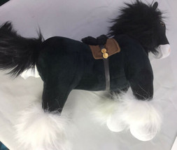 "Disney Store Brave Angus Black horse Plush Stuffed Animal 14"" x 17""  - $41.37"