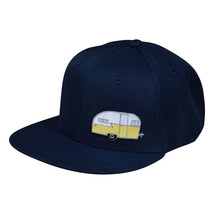 Trailer Snapback Hat by LET'S BE IRIE - Navy Blue - £16.97 GBP