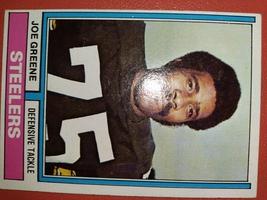 1973 Topps #40 Pittsburgh Steelers JOE GREENE - $3.89
