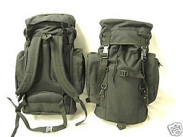NEW - Military Mission Tactical MOLLE Survival Backpack - SWAT BLACK - $42.09