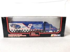 Racing Champions Bill Elliot #9 Melling Racing NASCAR 1:64 Team Transporter 1991 - $22.50