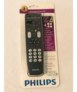 Philips Universal Remote Control 4 in 1 Glow Buttons SRP4004/27  Simple ... - $16.99