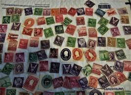 U.S. Stamps - Lot of 100 Vintage Stamps - $2.00