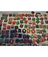 U.S. Stamps - Lot of 100 Vintage Stamps - $2.95