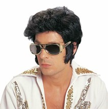 Costume Culture Rock N Rotolo Elvis Deluxe Parrucca Halloween Accessorio... - £20.09 GBP