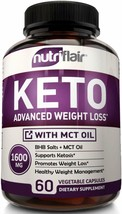 Best Keto Diet Pills, 1600mg Advanced Weight Loss Ketosis Supplement - N... - $25.73