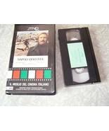 VHS Video Cassette Napoli Violenta Il Meglio Del Cinema Italiano Muarizi... - $18.99