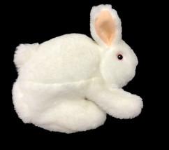 "Folkmanis White Bunny Rabbit Puppet Hand Plush 7"" Plush Stuffed Animal toy - $12.77"