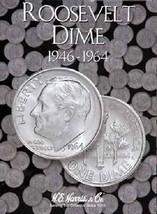 Roosevelt Dimes Coin Folder Album #1 1946-1964 by H.E. Harris - $5.99