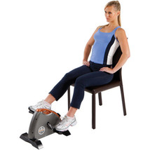Cardio Mini Cycle Exercise Bike Indoor Cycling Pedal Trainer Fitness Por... - $74.37