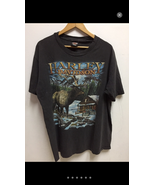 Vintage Harley Davidson Motor Cycles 1995 Shirt Streetwear - $100.00