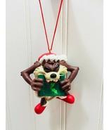 Avon Christmas Ornament Taz Eating Carols Looney Tunes 1998 Vintage 22717 - $29.69