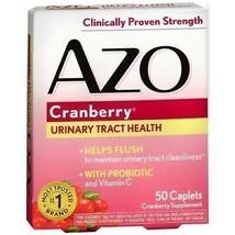 AZO Cranberry Women Urinary Tract Health w/ Probiotic and Vitamin C 50 C... - $9.99