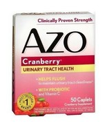 AZO Cranberry Women Urinary Tract Health w/ Probiotic and Vitamin C 50 C... - $9.99