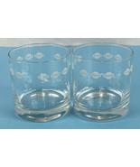 SET OF 2 Tiffany & Co. Rocks Tumbler Lowball Glasses Nissan Promo Item RARE - $44.44